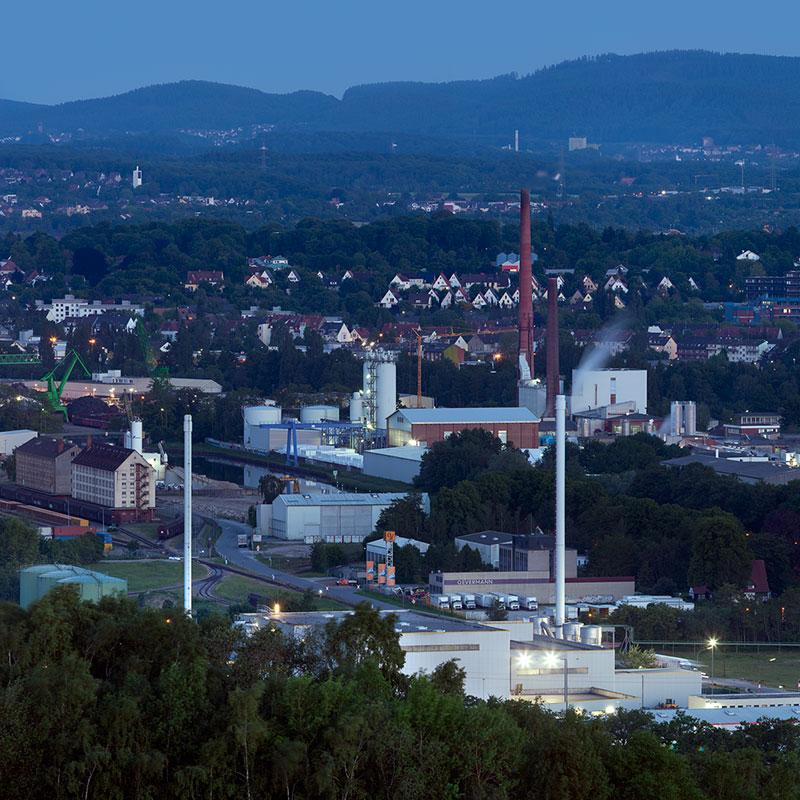 Osnabrück vom Piesberg und im Detail - Multiresolution